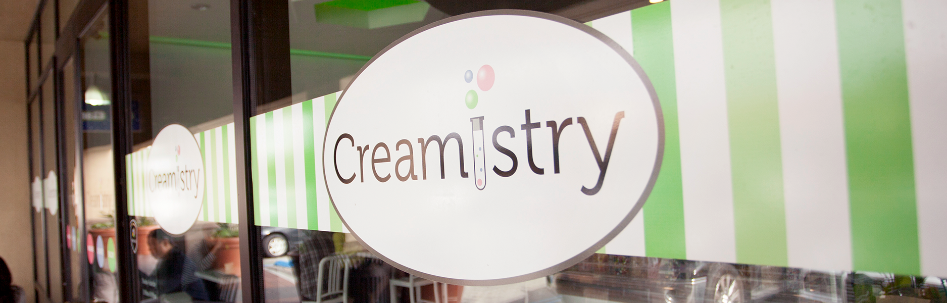 Creamistry Promotional Banners