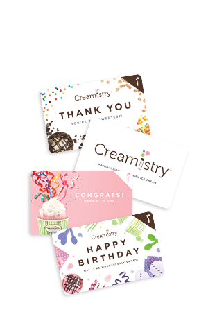 Creamistry Speciality Product Images